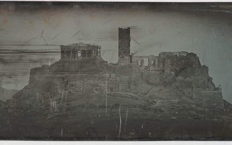 Earliest photos of Greece on show in NY