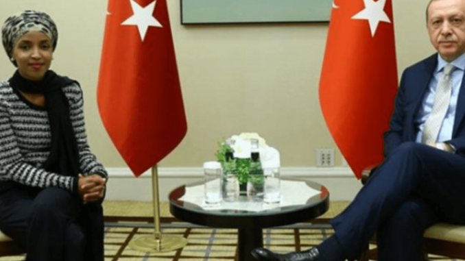 Photos Surface Showing 'Closed-Door' Meeting Between Rep. Ilhan Omar and President Erdogan
