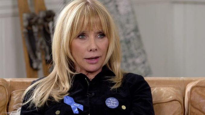 Rosanna Arquette Claims Trump Has 'Normalized Pedophilia, Rape, Mass Killings'