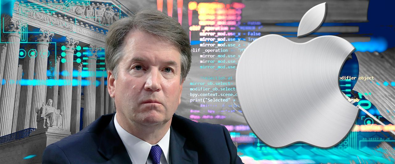 Kavanaugh sides with Supreme Court's liberal wing to deal blow to tech giant