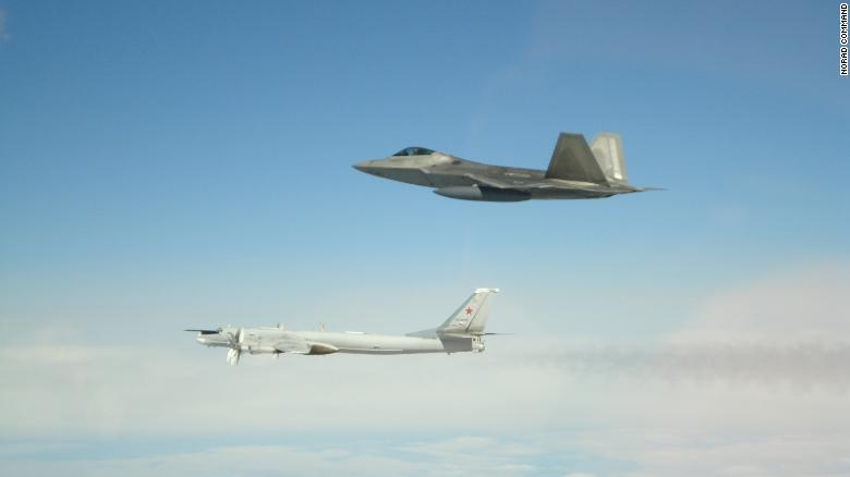 US intercepts Russian bombers, fighter jets off the coast of Alaska