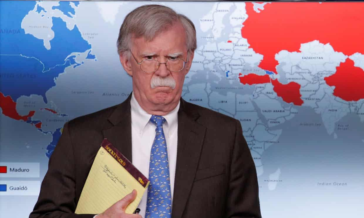 The Guardian: Is John Bolton the most dangerous man in the world?