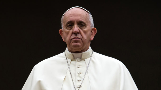 Pope Francis Issues Call For Global Authority To 'Manage' Nation States