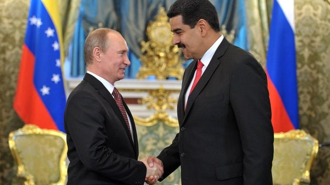 Russia Warns US Over Its 'Destructive' Interference In Venezuela's Affairs