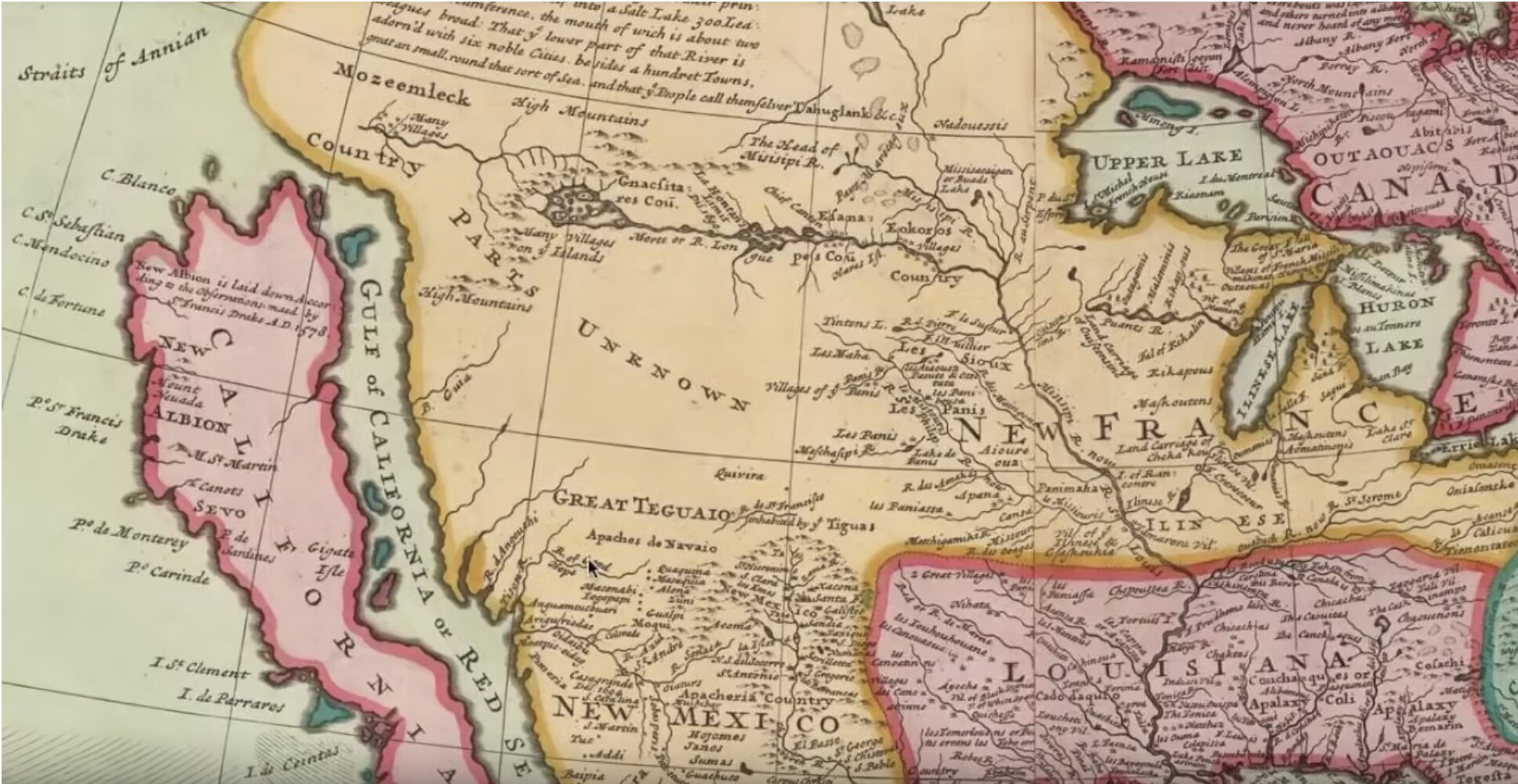 California used to be an…ISLAND cut off from the rest of the United States???!!!