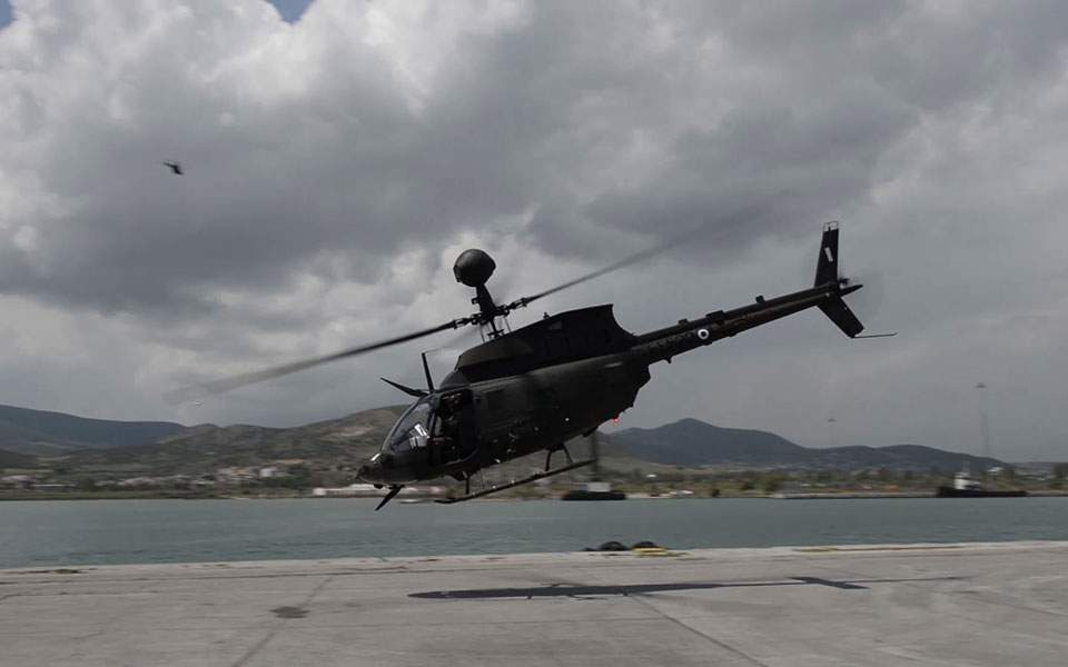 Greece takes delivery of US helicopters