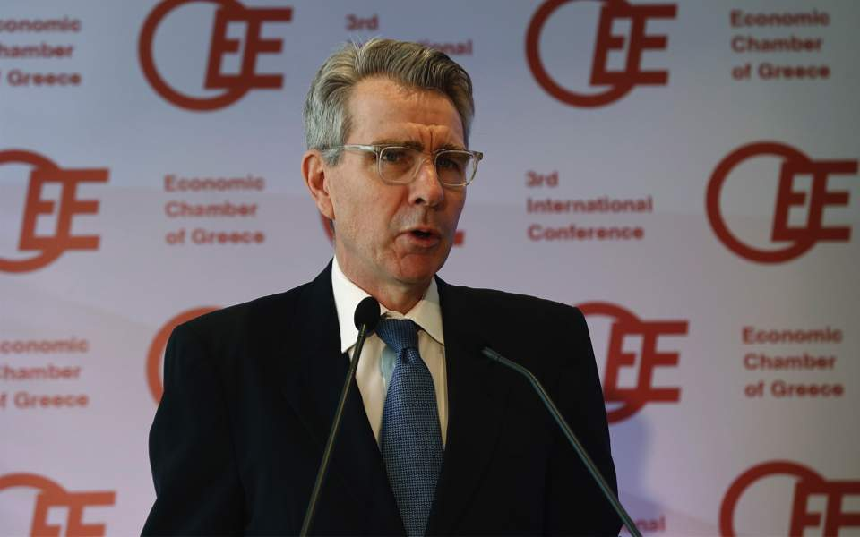 Pyatt: US remains 'invested' in Greece's economic recovery
