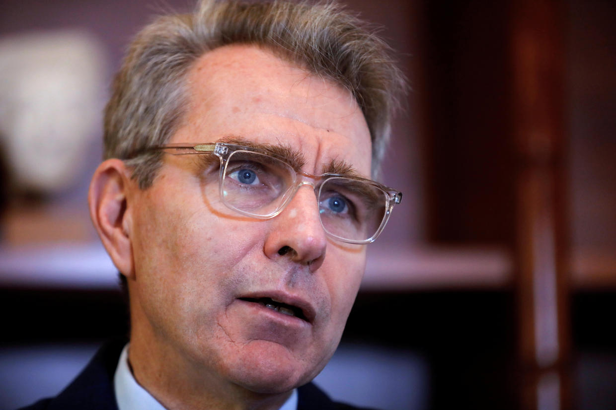 Vandals throw paint on Athens home of U.S. ambassador to Greece