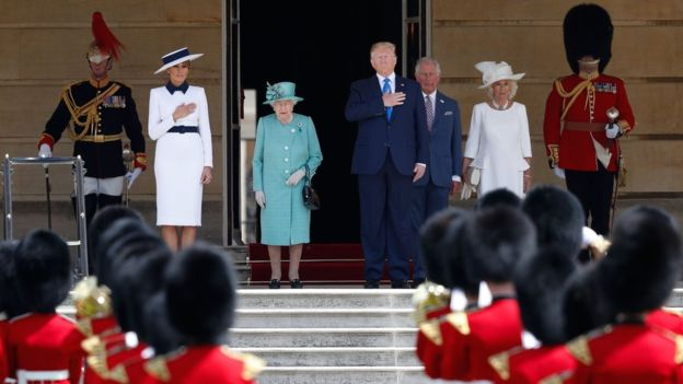 Donald Trump to hold talks with Theresa May amid protests