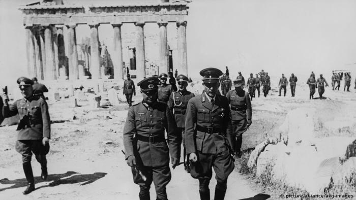 Greece calls on Germany to negotiate over war reparations