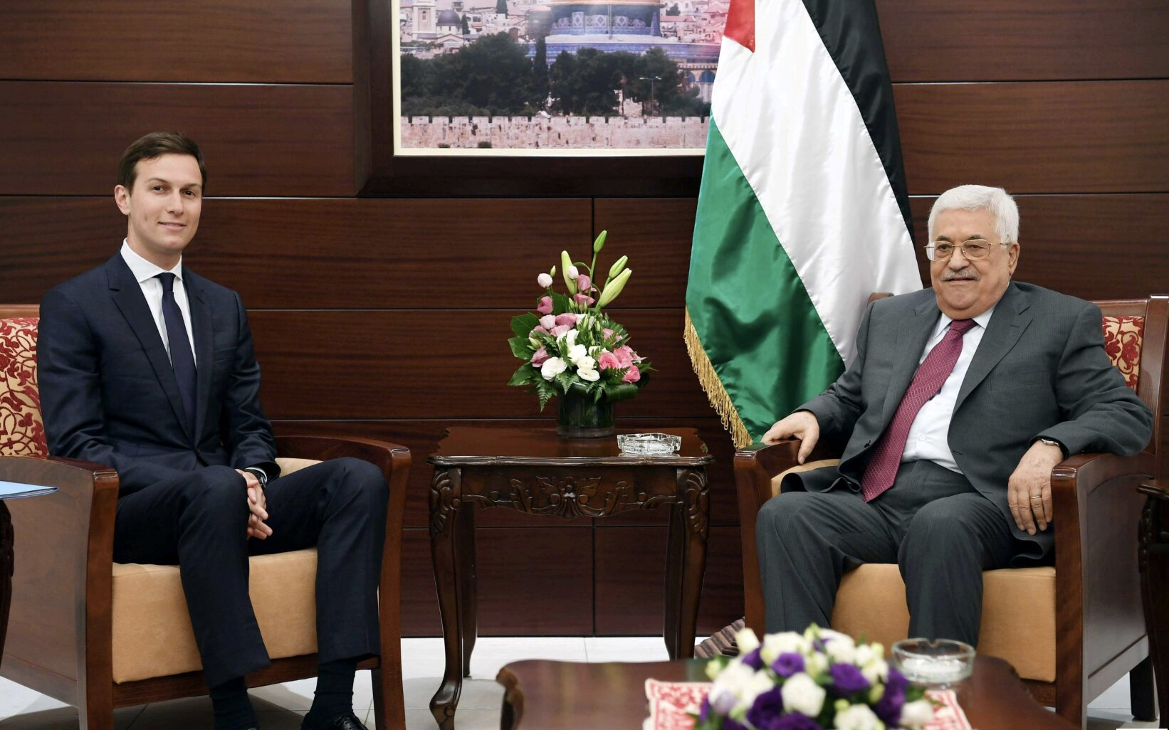 Palestinians say U.S. 'deal of the century' will finish off their state