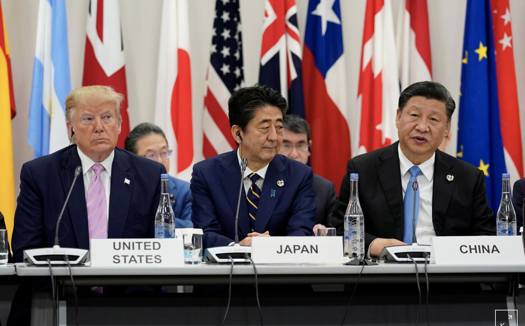 Trump talks trade at G20, China's Xi warns against protectionism