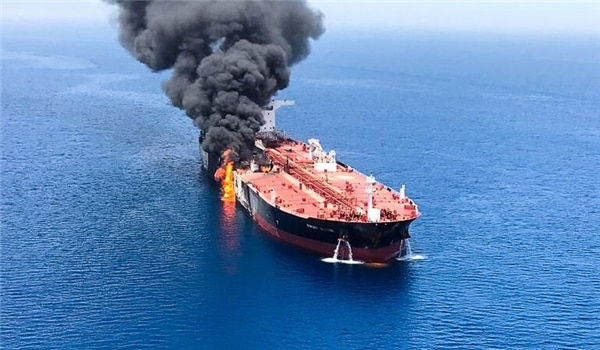 Mossad Main Suspect behind Attacks on Oil Tankers in Sea of Oman