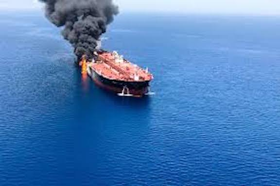 Trump says 'Iran did do it,' as U.S. seeks support on Gulf oil tanker attacks