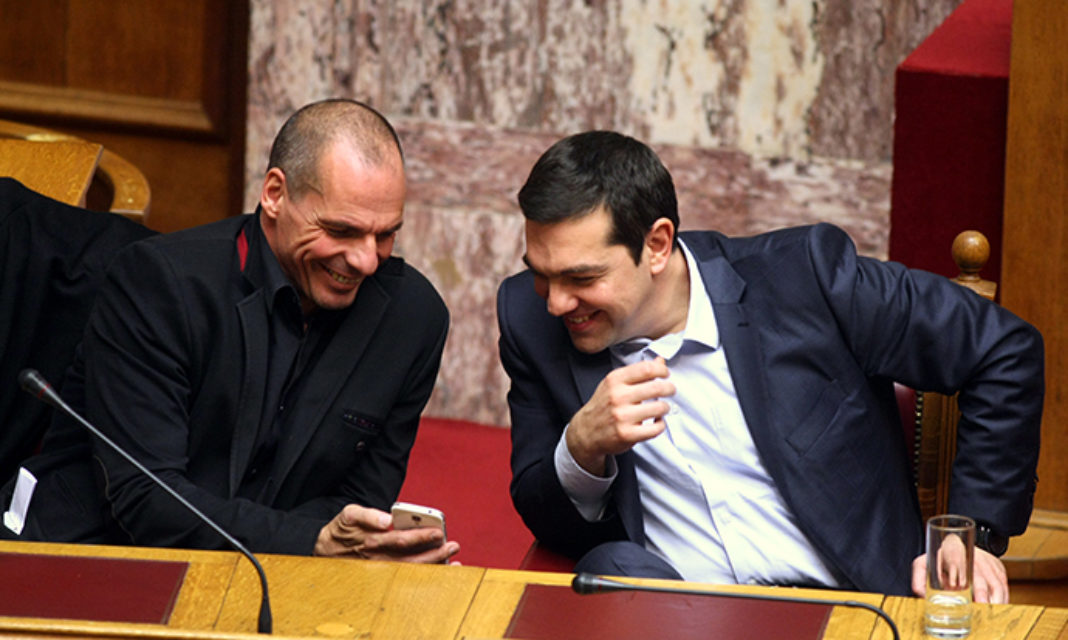 Varoufakis Comeback Poses New Threat to Greece's Tsipras. Has Transexuals on his team. Cooperates with George Soros…