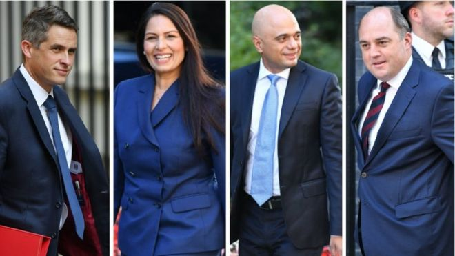 Boris Johnson's new-look cabinet meets for first time