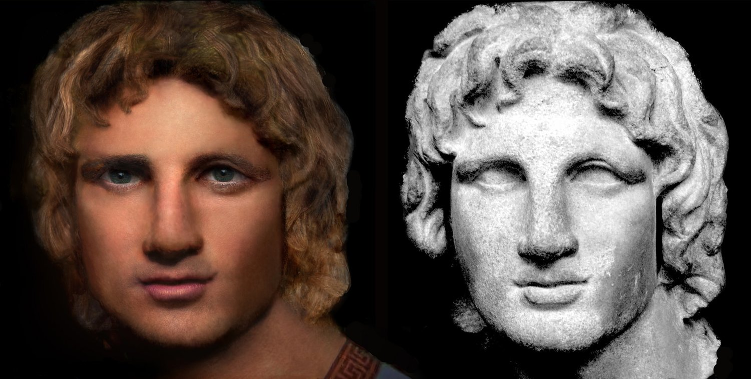 RECONSTRUCTION OF THE REAL FACE OF ALEXANDER THE GREAT – FACE OF ALEXANDER THE GREAT REVEALED