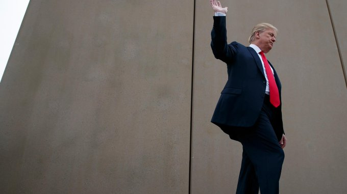 PAPER: TRUMP HAS NOT BUILT SINGLE MILE OF NEW BORDER FENCE