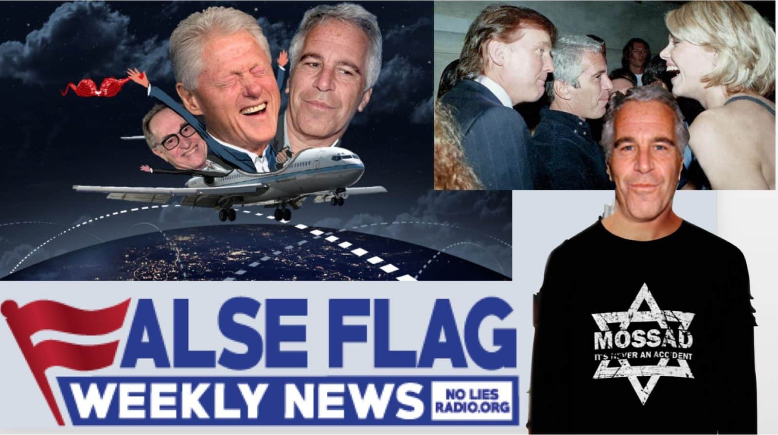 FFWN: Ian Greenhalgh exposes Mossad assets Jeffrey Epstein, Ghislaine Maxwell…and Donald Trump