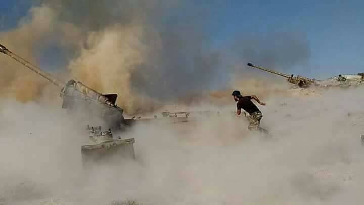 Syrian Army launches massive attack on northwestern Hama amid reports of new operation