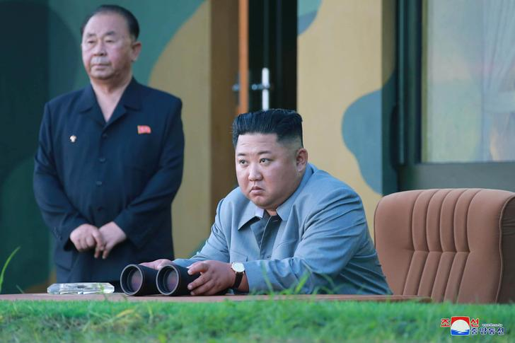 North Korea's Kim says missile launch a warning to South Korean 'warmongers'