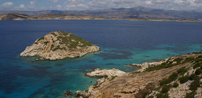 Marble Pyramid Island Uncovered, Revealing Origins of Ancient Greece