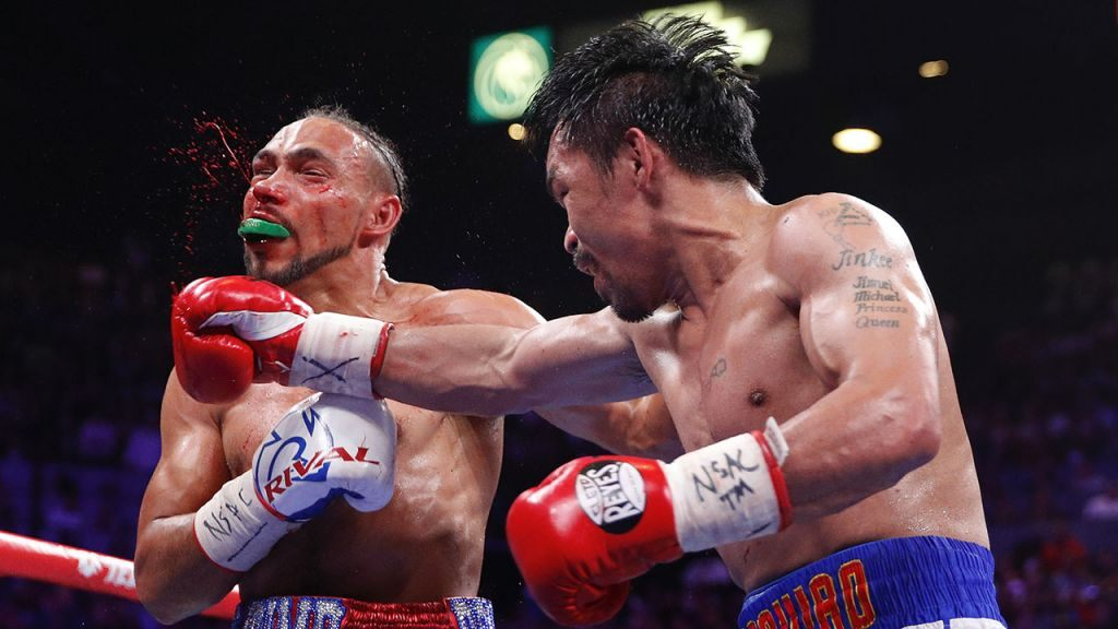 Manny Pacquiao wins third straight bout, defeating Keith Thurman
