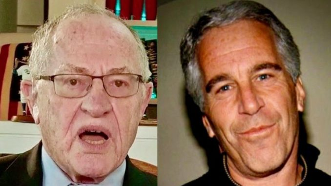 Dershowitz Says He Kept His Underwear On During 'Massage' By 'Old Russian' At Epstein's Mansion