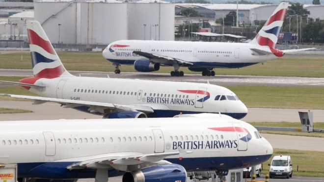 British Airways strike causes five days of flight cancellations