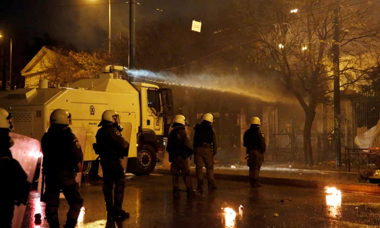 Greece scraps law banning police from university campuses