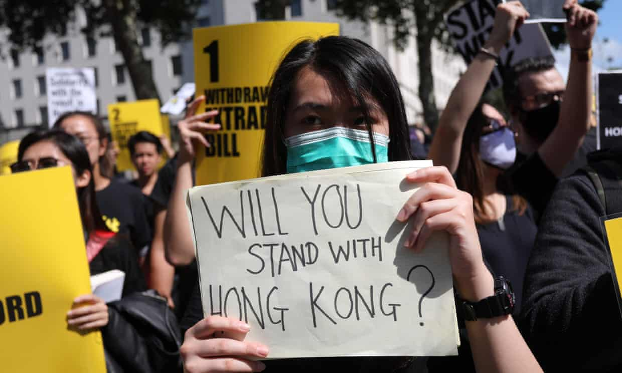 Twitter and Facebook crack down on accounts linked to Chinese campaign against Hong Kong