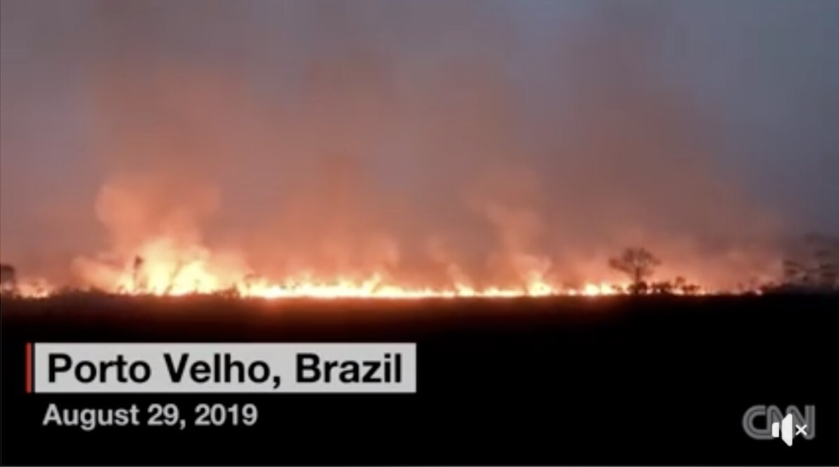 Devastating wildfires in Amazon also upending the lives of Brazil's indigenous people.
