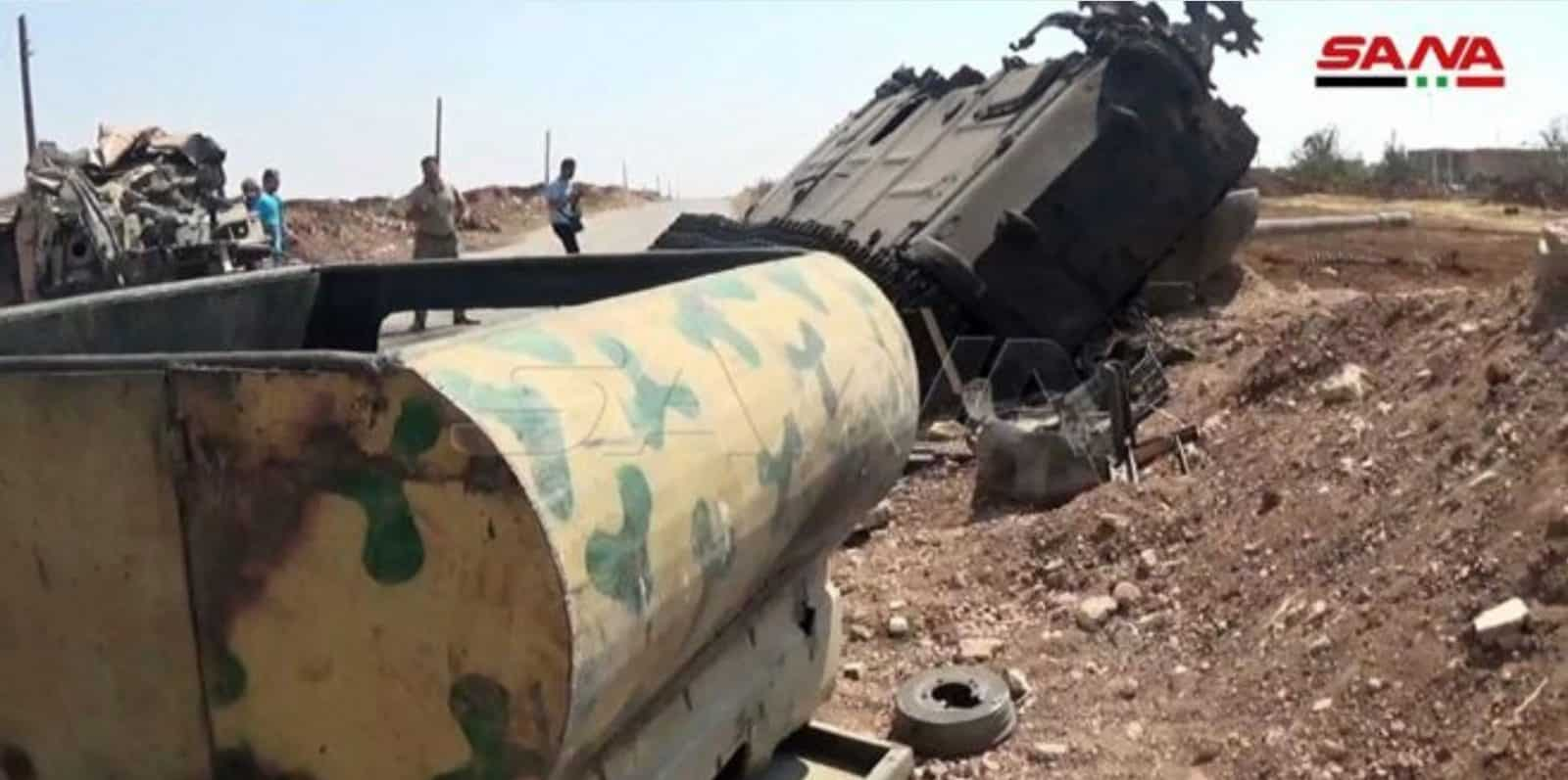 Syria: Turkish Convoy Destroyed Taking Arms to al Qaeda