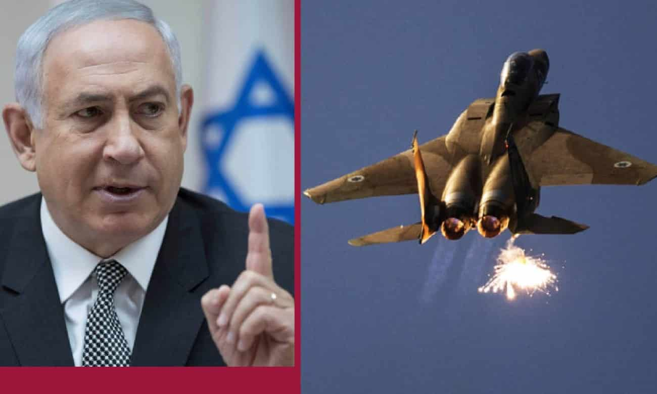 VT Italia: Gone Too Far? Gangster Netanyahu Attacks Lebanon and Syria