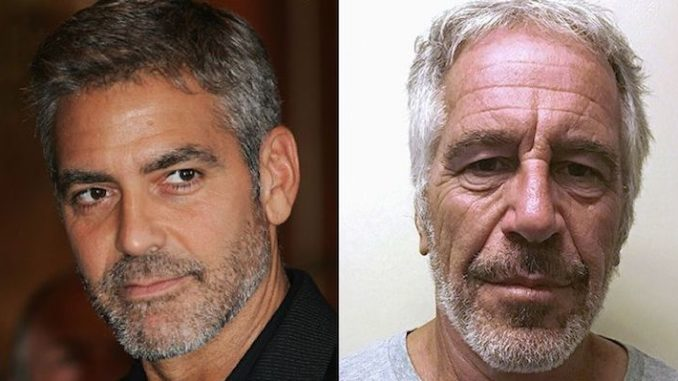 Epstein's 'Child Procurer' Performed Sex Act on George Clooney, Victim Says