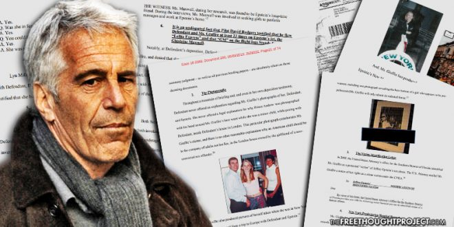 "Court unseals thousands of pages of documents related to convicted pedophile Jeffrey Epstein who then ""commits suicide"""