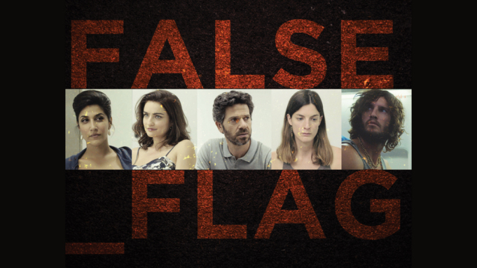 Israeli show 'FalseFlag', w/ Apple support, uses name used by conspiracy theorists who say that the government stages fake attacks. WHY?
