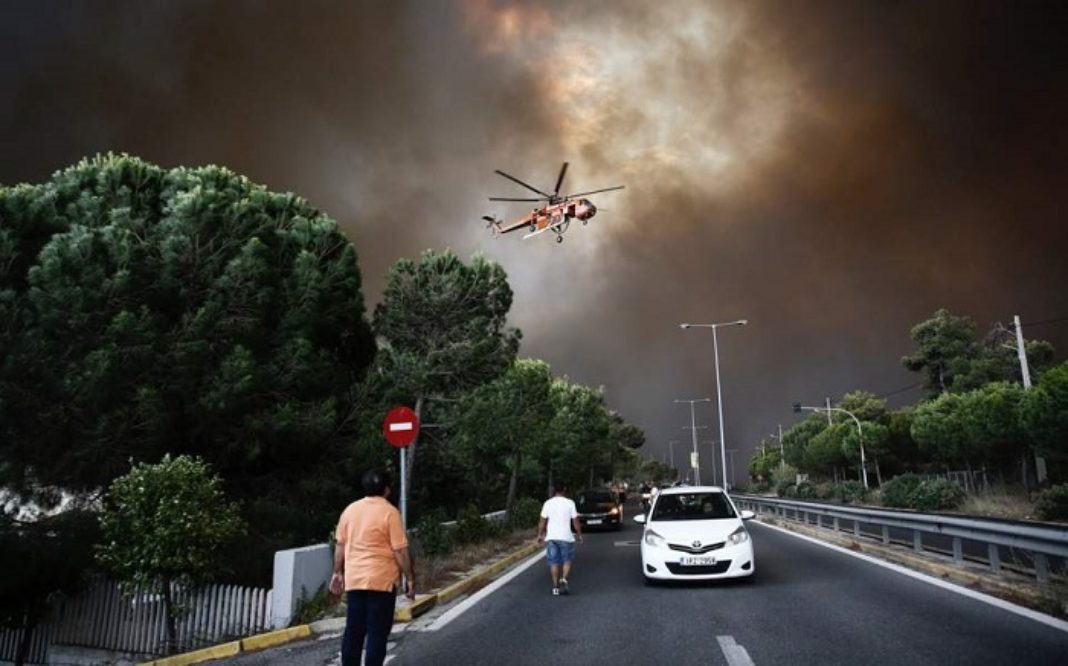 Greece Has Faced Double the Number of Wildfires in 2019 Compared to 2018. #AGENDA21 #DirectedEnergyWeapons