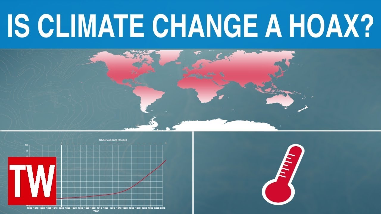 "The ""Climate Change"" HOAX has been EXPOSED PUBLICLY for YEARS now. WHERE HAVE YOU BEEN?!"