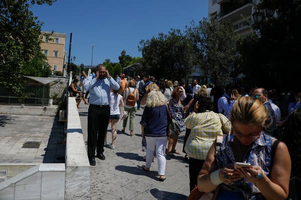 New earthquake rattles Greece
