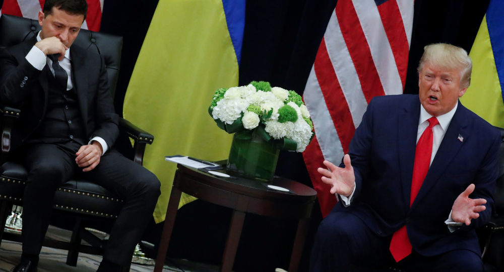 US Media Reveal Person Who Advised Trump to Release Transcript of July Call with Zelensky – Report