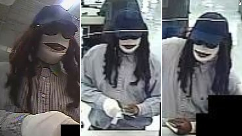 FBI seeking help identifying a bank robber dressed as a mummy