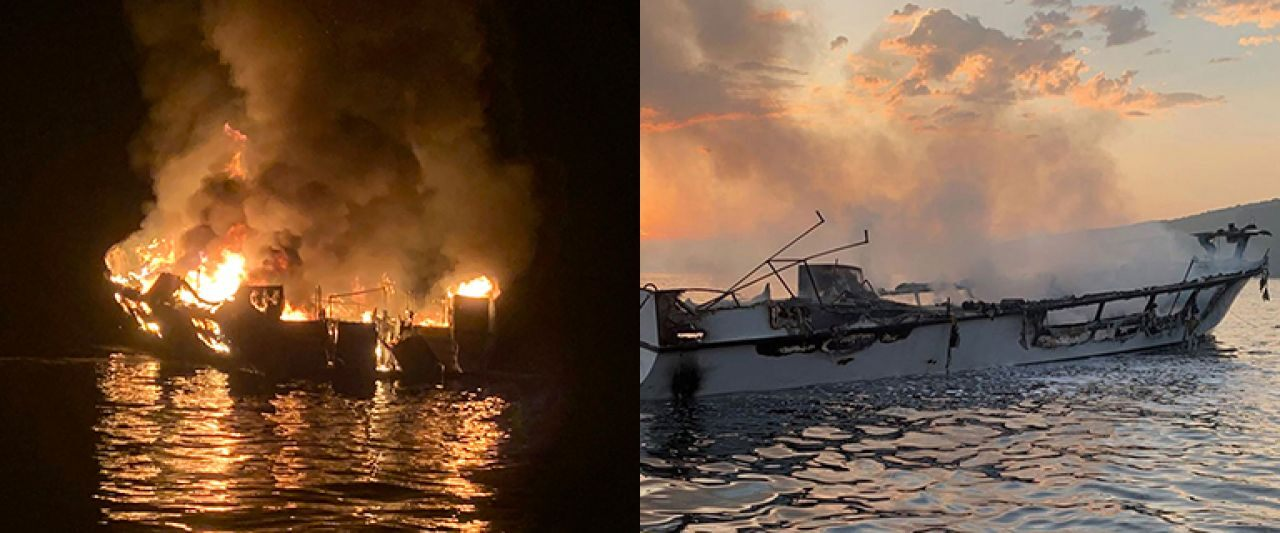 California dive boat owners file lawsuit to avoid liability after deadly fire