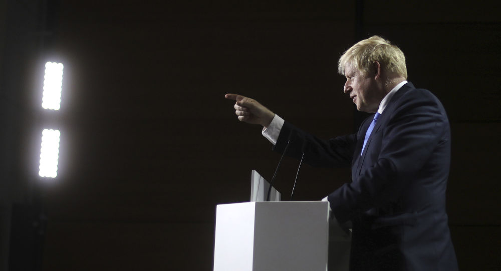 UK PM Johnson Denounces Turkey's Incursion Into Syria, Urges Erdogan to End Military Operation