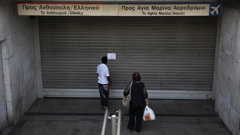 Greek workers strike for second time in 2 weeks