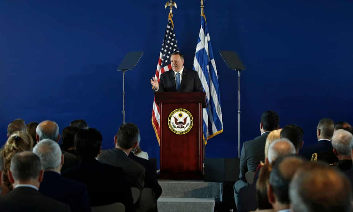 Pompeo hails 'new era' with Greece after signing revised defense deal