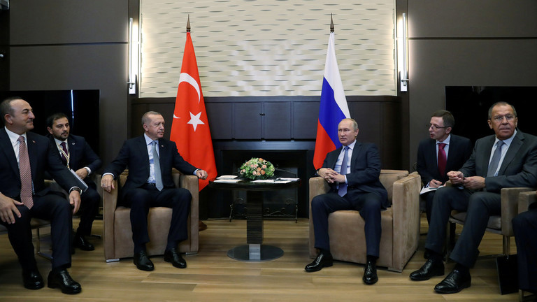 Russian & Syrian forces to deploy to northeastern Syria outside Turkey operation zone – Putin-Erdogan agreement