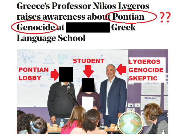 The number of…GREEK Greek Genocide skeptics grows. TRAITORS ALL OF THEM!!!