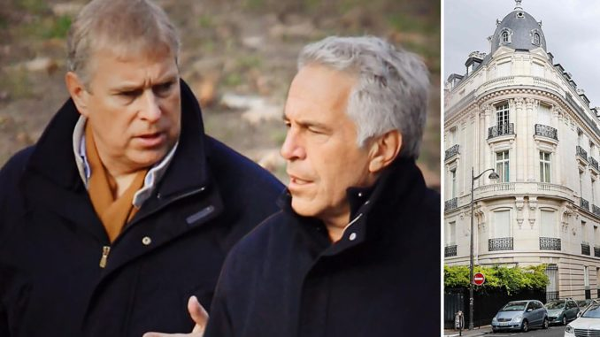 Prince Andrew Regularly Visited Jeffrey Epstein's Paris Home
