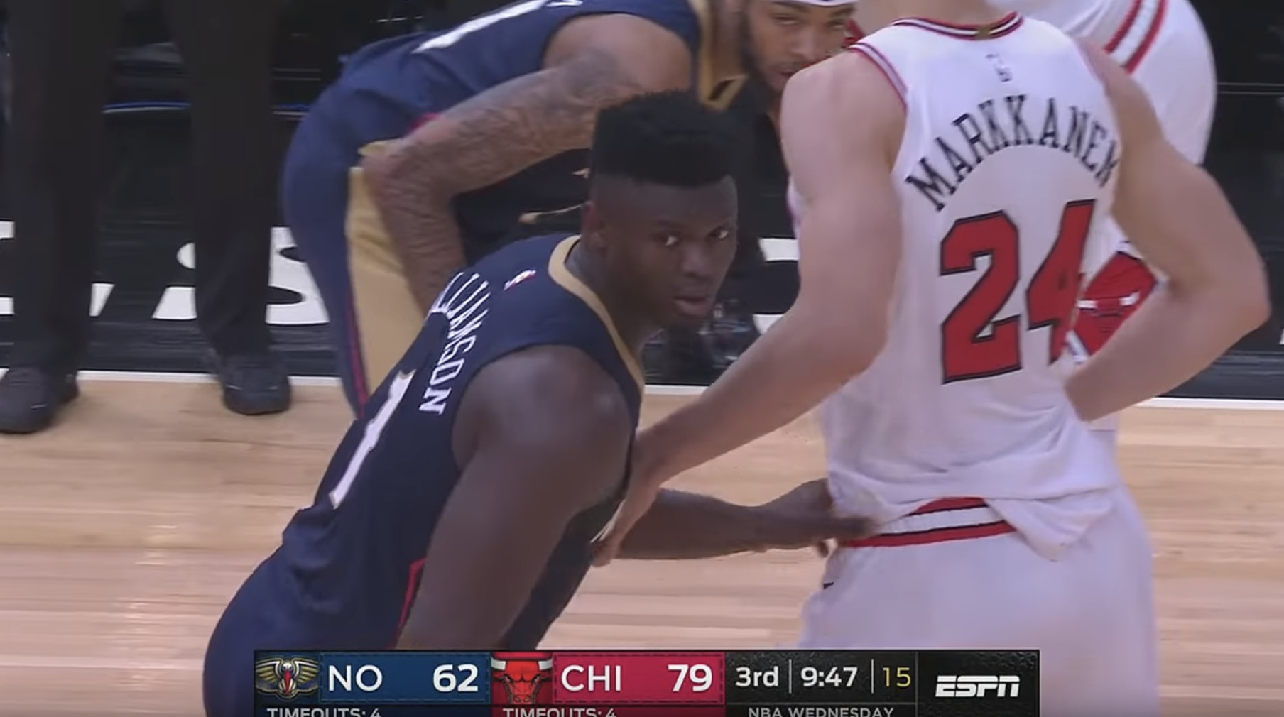 Zion Williamson: CRAZY DUNKS & Bullies Entire Bulls Team! Pelicans vs Bulls 2019 NBA Preseason